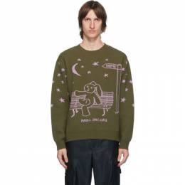 Marc Jacobs Green Heaven by Marc Jacobs Elliot Shields Bunny Sweater P1000036