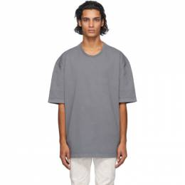 Maison Margiela Grey Garment Dye T-Shirt S50GC0548 S23366