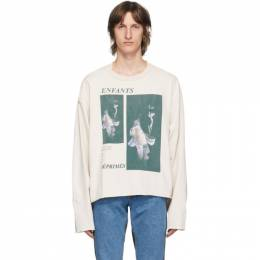 Enfants Riches Deprimes Off-White Geisha Long Sleeve T-Shirt 010-536