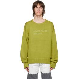 Enfants Riches Deprimes Green Classic Logo Sweater 080-133