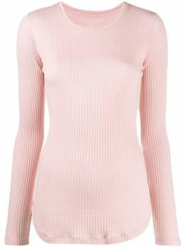 Majestic Filatures приталенный пуловер в рубчик M217FTS537