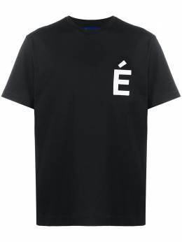 Etudes футболка Wonder с нашивкой E17B41701