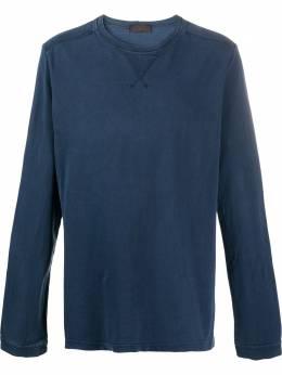Yohji Yamamoto Pre-Owned футболка 2000-х годов с круглым вырезом и длинными рукавами YYAM250