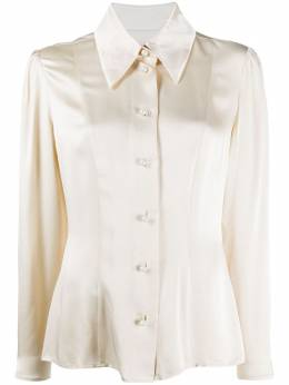 Alexa Chung атласная рубашка Clapton P20SH04VI537
