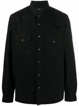 Amiri textured button-up shirt W0M04616DE