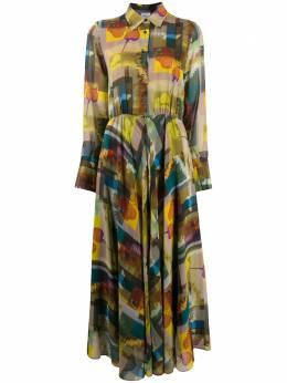 Sara Roka расклешенное платье-рубашка Signe SIGNE9031F20