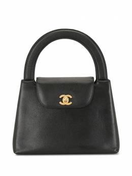 Chanel Pre-Owned сумка-тоут 1998-го года с логотипом CC 5211836