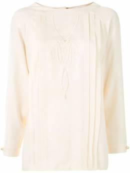 Chanel Pre-Owned блузка с укороченными рукавами 00239110500F2A26007807