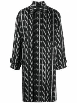 Valentino пальто с логотипом VLTN UV0CAC386QQ