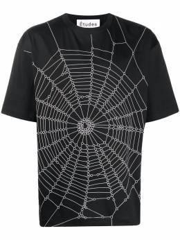 Etudes футболка Museum Spider с круглым вырезом E17M433SW