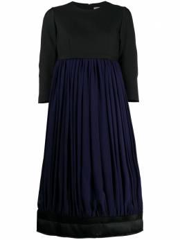 Comme Des Garcons платье в стиле колор-блок со вставками GFO006