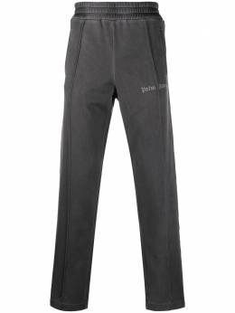 Palm Angels elasticated-waist straight-leg trousers PMCA023F20FAB0021010