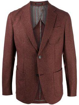 Emporio Armani single-breasted fitted blazer 91G93S91S22
