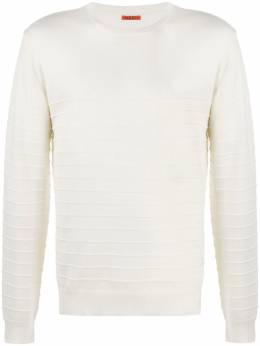 Barena horizontal-ribbed sweater KNU29660381