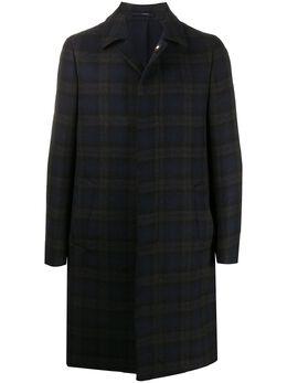 Lardini однобортное пальто в клетку IM23689AIMC55602