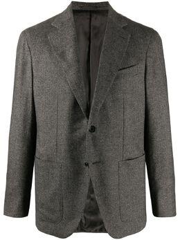 Caruso herringbone-pattern blazer 505133