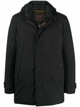 Moorer quilt-lining feather-down parka A20M270STOP