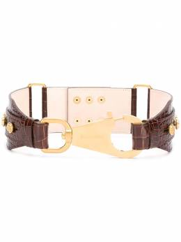 Balmain B-Ring hook belt UN0A029LVCW