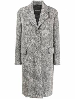 Ermanno Scervino single-breasted tailored coat D376D327CTZYA