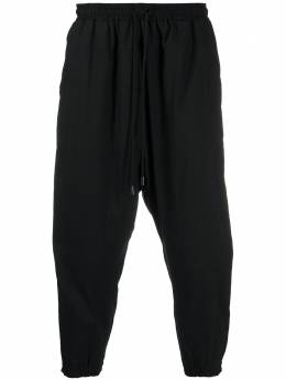 Alchemy tapered drop-crotch trousers ALL454