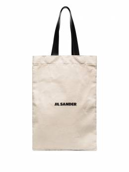 Jil Sander canvas tote bag JSMR852457MRB73006