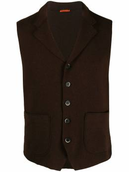 Barena button-up knitted gilet GLU29280001