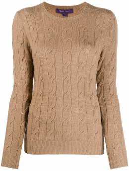 Ralph Lauren cable-knit cashmere jumper 290615209007