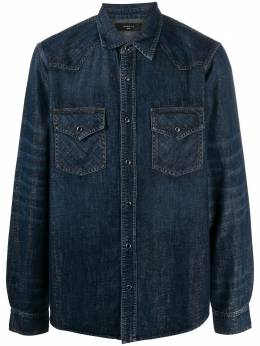 Amiri buttoned denim shirt W0M04616DE