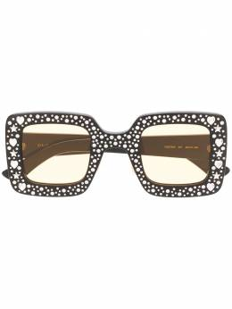 Gucci Eyewear crystal embellished oversized sunglasses GG0780S