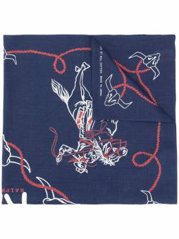 Ralph Lauren logo embroidered scarf 41775494