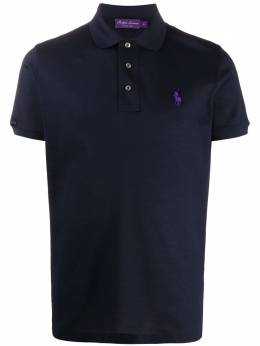 Ralph Lauren logo embroidered polo shirt 790508064067