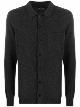Roberto Collina fine-knit fitted cardigan RD38005