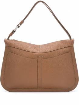 Orciani сумка-тоут из зернистой кожи B02084SOFT