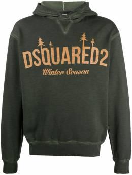 Dsquared2 Winter Season print hoodie S71GU0401S25030