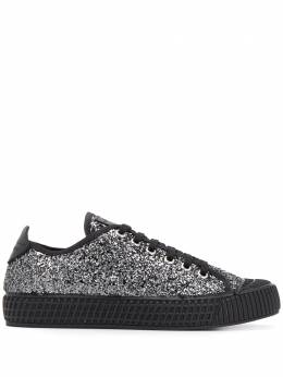 Car Shoe sequin embellished sneakers KDE51O36B