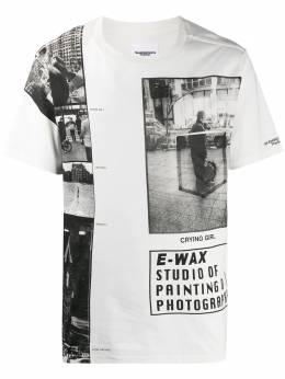Takahiromiyashita The Soloist футболка с логотипом SEWAXC0004