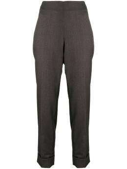 Peserico high-waisted tapered trousers P0491103019