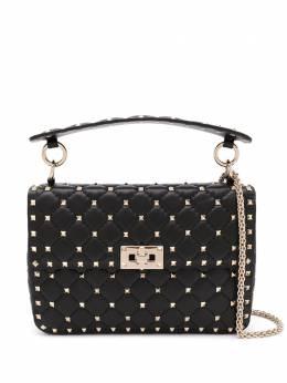 Valentino Garavani сумка на плечо Rockstud Spike среднего размера UW0B0122NAP