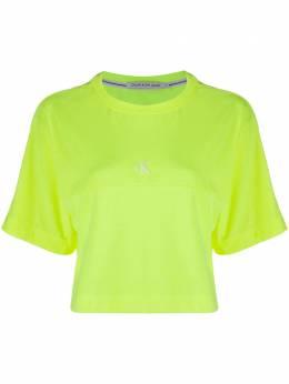 Calvin Klein Jeans cropped short sleeve T-shirt J20J214434