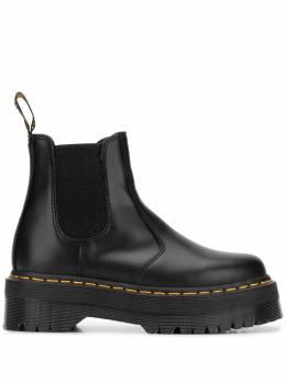 Dr. Martens ботинки с контрастной строчкой DMS2976QBSM24687001