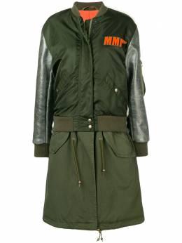 Mr & Mrs Italy куртка-бомбер с вышивкой BB167E