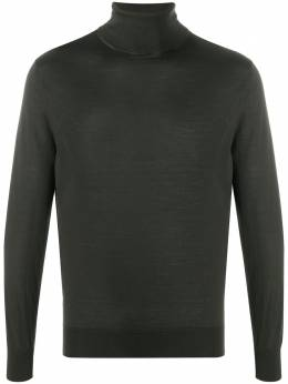 Ermenegildo Zegna fine knit roll neck sweater UVM00120