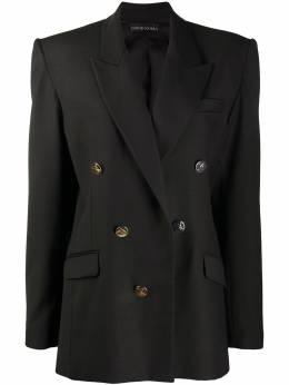 David Koma двубортный пиджак AW20DK24J