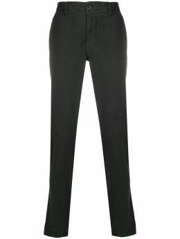 Incotex брюки прямого кроя с логотипом 12S10040661