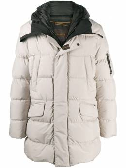 Moorer feather-down hooded duffle coat A20M480STOP