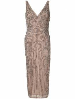 Rachel Gilbert платье Arna с бусинами 20SSRG60779