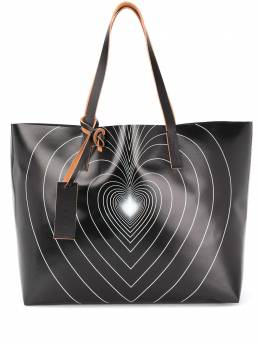 Marni graphic print tote bag SHMQ0010A2P3771