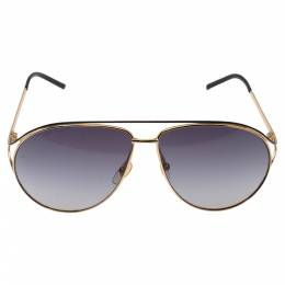 Gucci Gold Tone/ Grey Gradient GG4216/S Aviator Sunglasses 330319