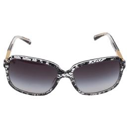 Dolce&Gabbana Lace Inlay/ Smoke Gradient DG 4172 Square Sunglasses 330371