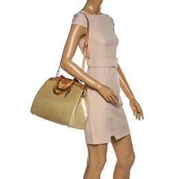 Louis Vuitton Vert Impression Monogram Vernis Brea GM Bag 330723